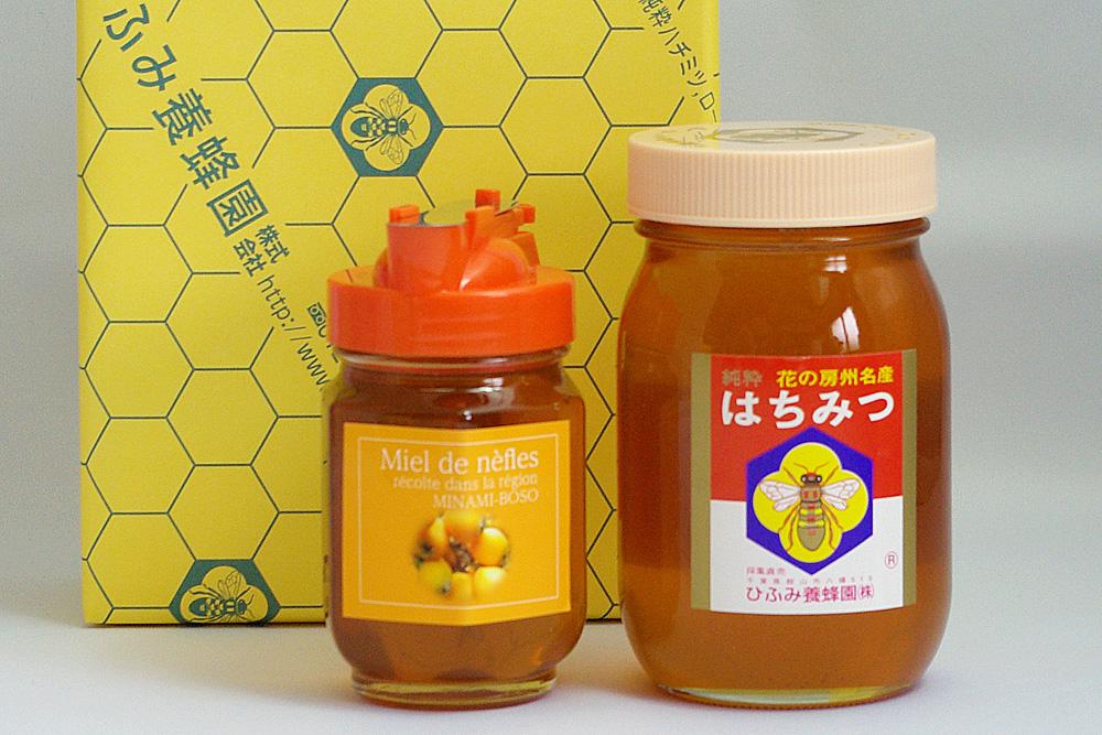 びわハチミツ・菜の花純粋はちみつギフトセット